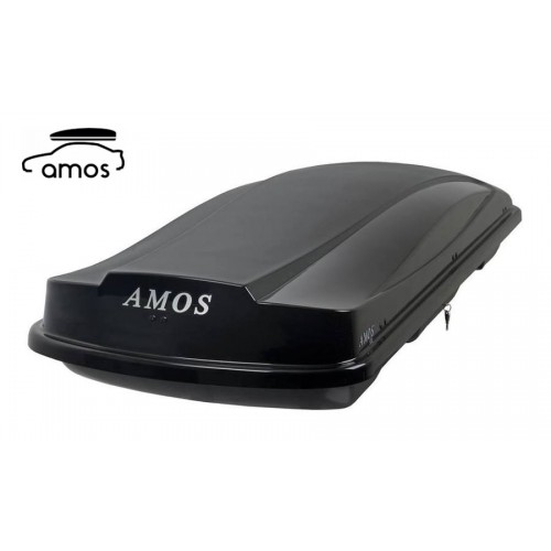 Автомобильный бокс AMOS 500 литров чёрный