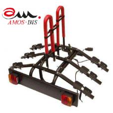 """Велокрепление на фаркоп """"AMOS"""" 3 для 3-х велосипедов."""