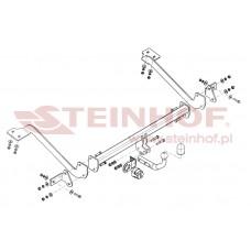 Фаркоп Steinhof C-015 для Citroen Berlingo Tepee 2008- удлиненная база 4628 mm (L2)