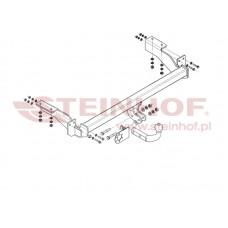 Фаркоп Steinhof C-026 для Citroen C4 3/5 дверей 2004-2010 нагр.1700/65