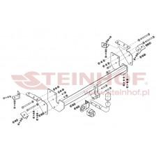 Фаркоп (АНАЛОГ ОРИГИНАЛА) Steinhof M-302 на Citroen C4 Aircross 2012- (1500/70)