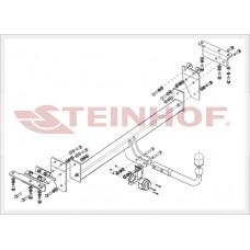 Фаркоп Steinhof N-104 на Nissan X-Trail T32 2014- (2100/100)